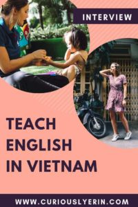 Teaching English in Vietnam is a great option for native English speakers to find work abroad. This post takes you through all you need to know about living in Vietnam and how to get a job teaching English #TEFL #TESOL #Teachingenglish #Vietnam