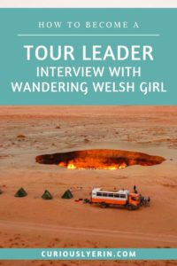 Become a tour leader today. In this interview with @wanderingwelshgirl Louise explains what its like to be a tour leader, the difference between a tour guide and a tour leader and how you can get a tour leader job and get paid to travel the world #jobsabroad #tourleader