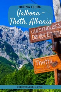 20 top tips for hiking between Valbona and Theth in Albania. #hikingtips #valbonatotheth #Europehikes #tophikes
