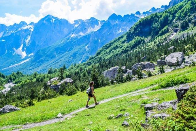 Hiking in Albania