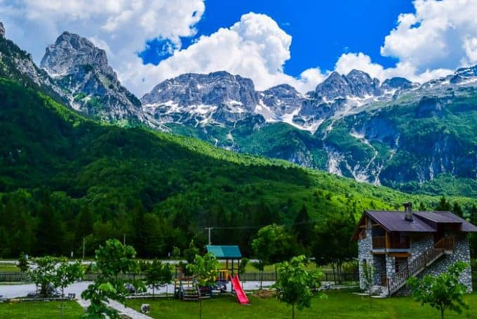 Valbona Village in Albania