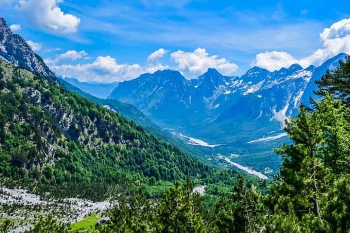 Valbona Pass viewpoint