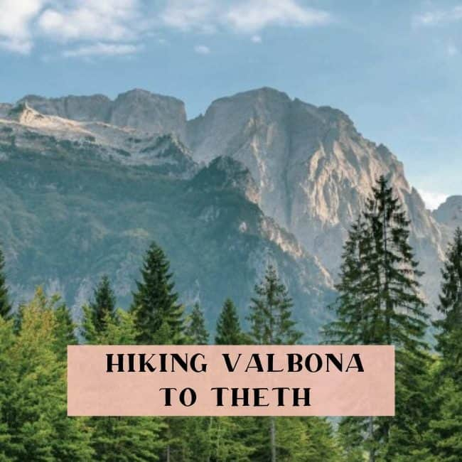 Hiking Valbona to Theth, Albania