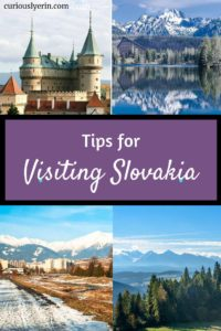 Make sure you know these important tips before you visit Slovakia. These top things will make your trip smooth, enjoyable and budget-friendly. #travelslovakia #slovakiatips #bratislava #hightatras