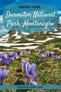 The complete guide to visiting Durmitor National Park including things to do in Durmitor and hiking guide to Durmitor. This incredible Balkans National Park of Montenegro is a must-visit destination for anyone who loves nature and the outdoors | Where to stay in Durmitor National Park | How to get there and more #visitmontenegro #thingstodoinDurmitor #nationalparks #easterneurope #balkans #topplacesmontenegro