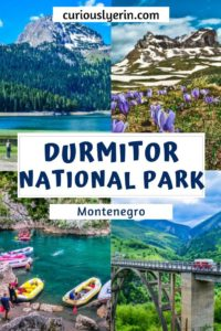 Durmitor National Park, Montenegro is a large area in the northeast of the country. Find the top things to do in Durmitor including whitewater rafting adventures, ziplining, hiking, scenic drives and more. #visitmontenegro #thingstodoinDurmitor #nationalparks #easterneurope #balkans #topplacesmontenegro