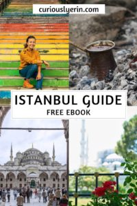 The complete Istanbul Travel Guide in downloadable ebook format. Everything you need to know to visit Istanbul, from where to stay, what to eat, where to eat, breakdown of Istanbul neighbourhoods and more.