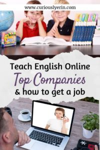 Teach English online with these top 12 companies and find out how to apply for them today. Do your TEFL certificate for 50% off with this coupon and start living the digital nomad lifestyle today. #digitalnomad #teachenglishonline #workabroad #getpaidtotravel #tefl #englishteacher