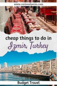 Often an overlooked city in Turkey, Izmir should not be missed. With the most authentic bazaar, traditional Turkish food, waterfront restaurants and views make sure you find out my top things to do in Izmir. #visitturkey #budgettravel #