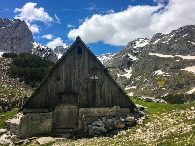Mountain Huts in Montenegro