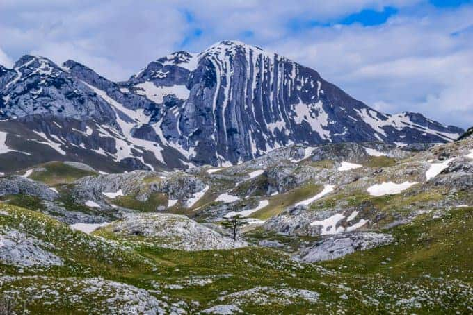 Durmitor National Park mountain peaks