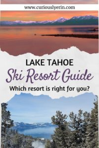 Are you planning a ski trip this winter? Why not consider skiing in Lake Tahoe, California. Find out the best Lake Tahoe ski resort and which one is the best place for you and your family or friends #skiing #skitrip #LakeTahoe #skiresort #skicalifornia