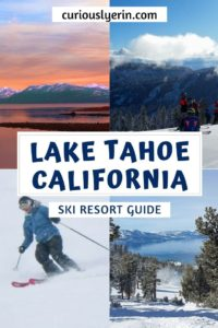 The best Lake Tahoe ski resort in California resort breakdown guide. Do you want to go on a ski trip this winter? Click to find out why you should ski in Tahoe and which of the 13 resorts you should pick. #skiing #skitrip #LakeTahoe #skiresort #skicalifornia