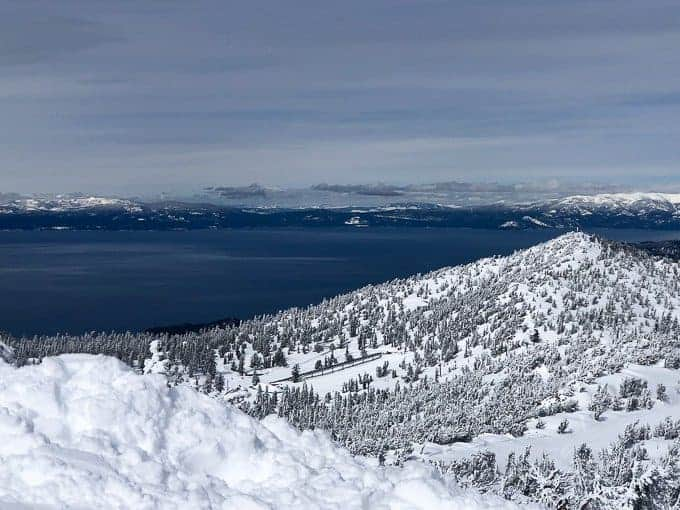 The best Lake Tahoe ski resort has views over the lake