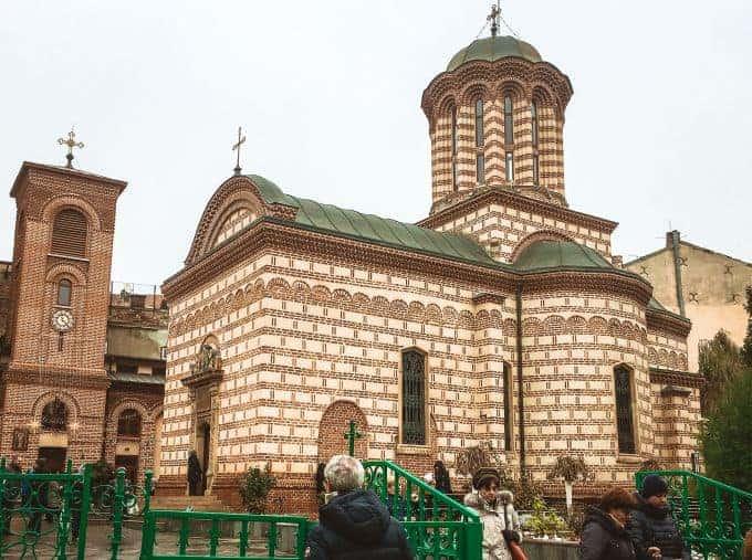 Biserica Sfântul Anton - The oldest church in Bucharest