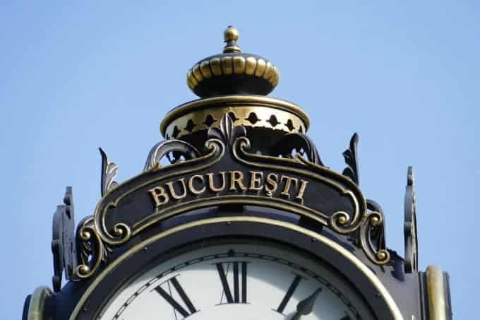 Bucharesti clock tower