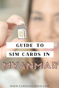 Click for the guide to SIM cards in Myanmar. Compare the 3 top phone carriers, costs, data packs and where to buy a SIM card in Myanmar. #yangonmyanmar #travelmyanmar #traveltips