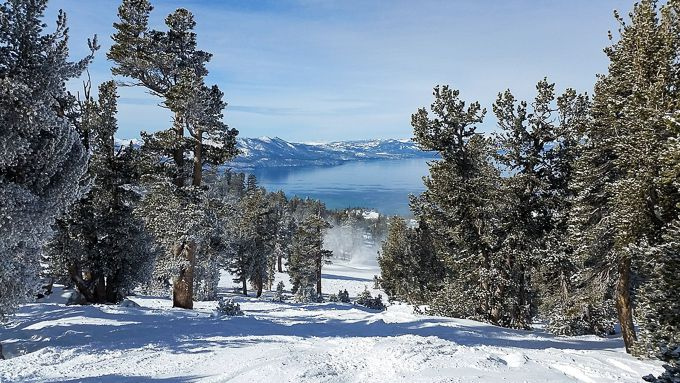 The best Lake Tahoe ski resort has incredible views over the lake