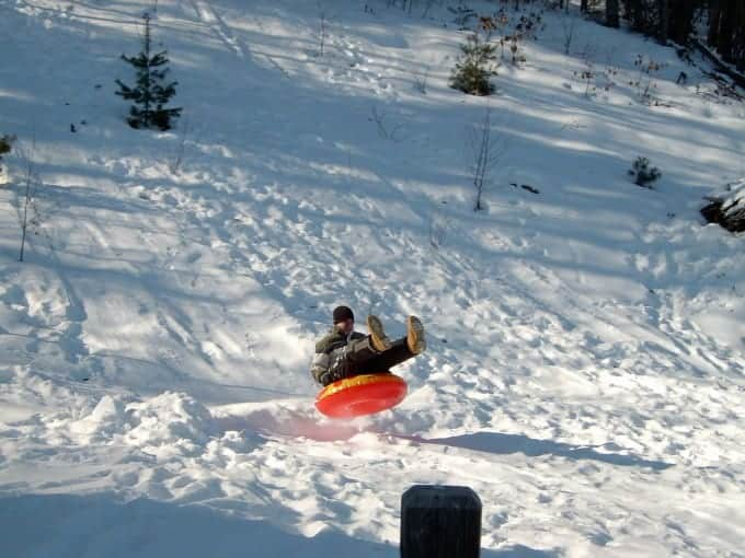 Tubing is a fun activity for all ages