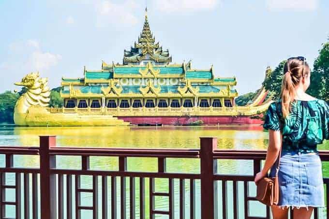 Kandawagyi Lake Yangon