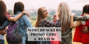 Worldpackers promo code twitter