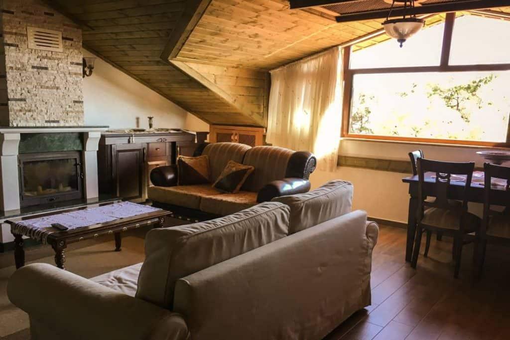 Our Airbnb in Akyaka, Turkey