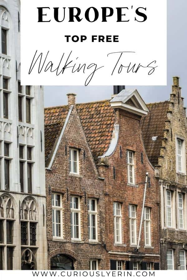 Find the best free walking tour for your next European city getaway. Top bloggers share and review their favourite free walking tours in Europe. Free walking tours are a great way to become orientated within a new city, learn a bit about the history and grab discount cards for your stay. #europetravel #freetravel #europe #toursandtravels