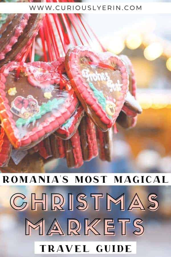 Romania's most magical Christmas markets travel guide. Find out which are the top 3 Christmas markets in Romania, what you will find at each one, why they are so special and more #romaniatravel #christmas #christmasmarketseurope #bucharestwinter #easterneurope