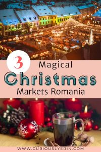 Christmas markets in Romania are next to none. The traditional markets you will find over the country are some of the best in Europe. This travel guide shows you the top 3 most magical Romanian Christmas markets to visit this year. #romaniatravel #christmas #christmasmarketseurope #bucharestwinter #easterneurope