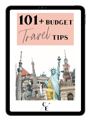 budget travel tips ebook