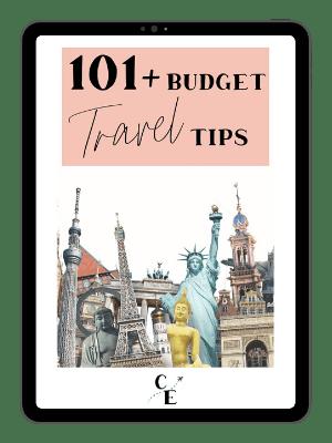 budget travel tips ebook