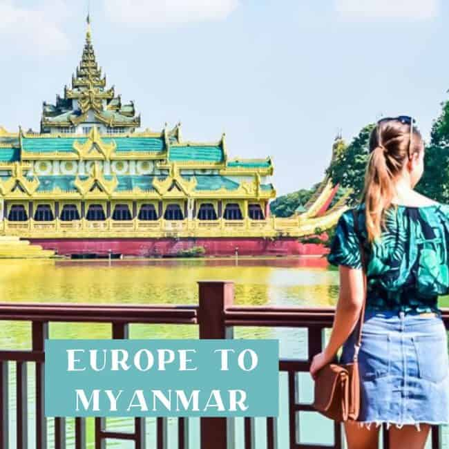 Europe to Myanmar life update