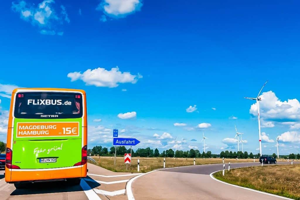 FlixBus budget transport Europe