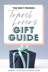 Gift guide for the travel lovers in your life. Click to find out the best 16 gifts for your best friends #giftguide #practicalgifts #fungifts #sustainablegifts #ecofriendly #usefulgifts #bestfriends #besties