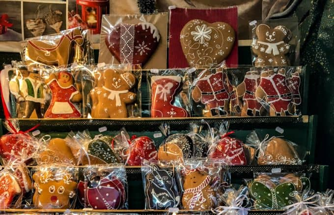 Gingerbread treats at the Christmas markets Brasov