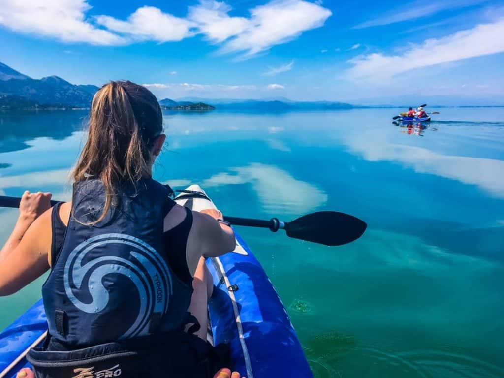 Lake Skadar Kayaking