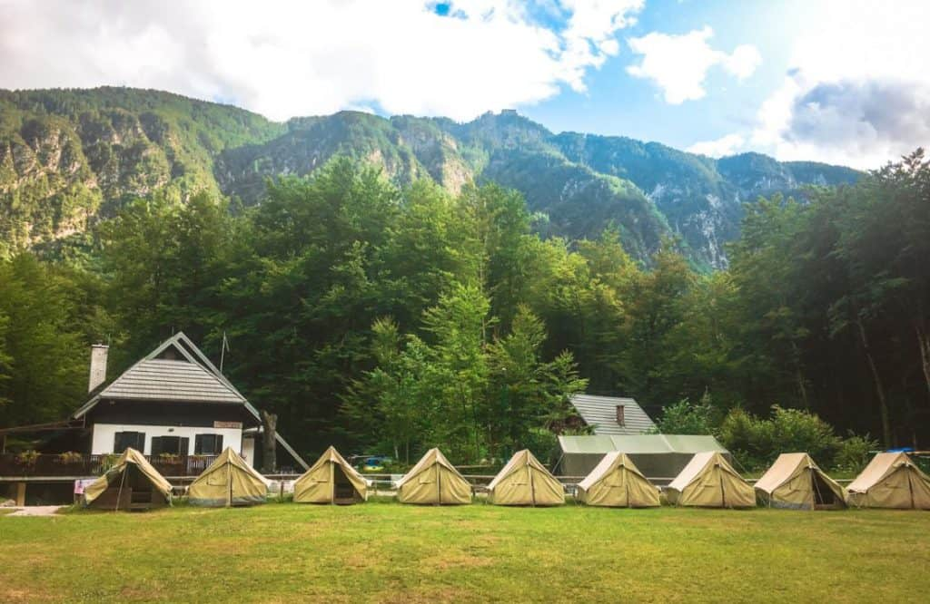Scout Camp Lake Bohinj Slovenia