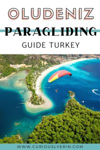 Are you looking for the best Oludeniz Turkey activities? Then paragliding over the blue lagoon is a must. This bucketlist activity is the top thing to do when visiting Oludeniz. In this guide, I will give you tips on getting the best price, which company to choose, and other tips and info about paragliding in Oludeniz Turkey. #oludenizbeach #oludenizparagliding #paraglidingphotography.