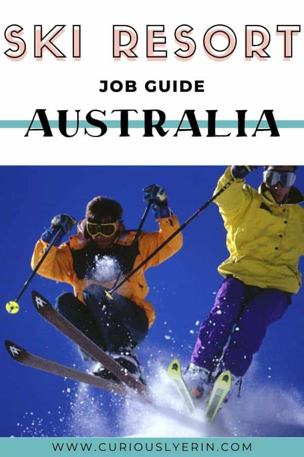 Everything you need to know before applying and working at the snow in Australia. Have you ever thought of working ski resort jobs in Australia? Find information on Thredbo, Perisher, Falls Creek, Mt Buller and Mt Hotham #traveljobs #skiresorts #resortjobs #whvaustralia #workinaustralia