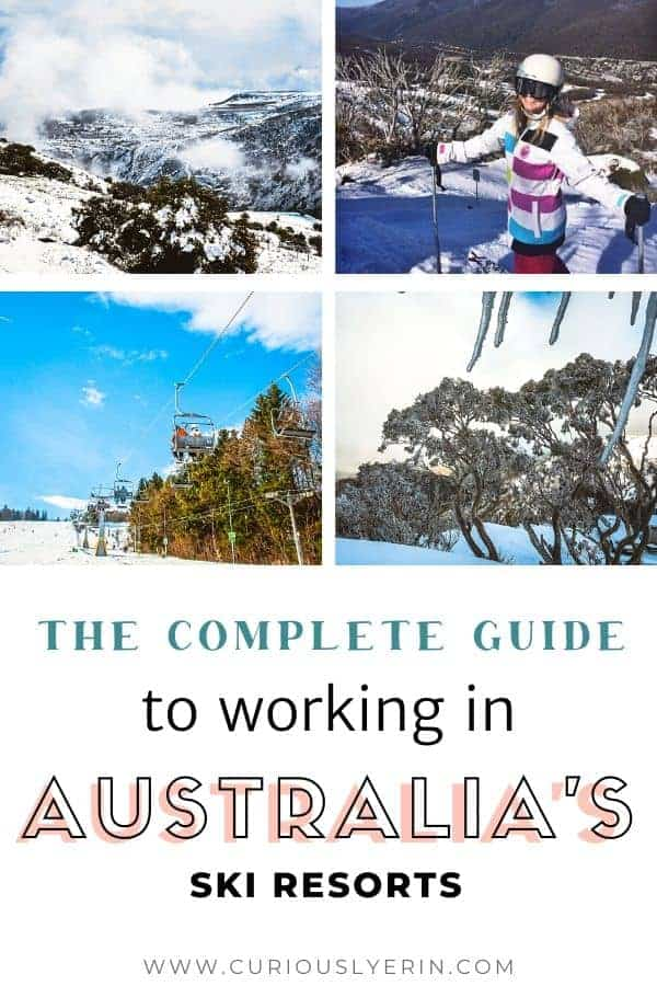 The complete guide to finding and working in the Australian ski resorts. How to find a ski resort job in Australia this winter #skijobs #skiinstructor #whvaustralia #workandtravel #getpaidtotravel