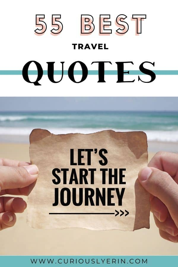 The best travel quotes to fuel your wanderlust and sense of adventure. Quotes about travelling as a couple. Find your next favourite quote here. #travelquoteswanderlust #travelquotesinspirational #quotestoliveby