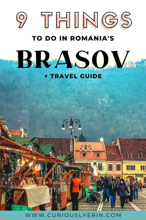 The best travel guide for visiting Brasov in Romania. Top things to do in Brasov, where to stay, how to get there and more. #brasovromania #brasovnight #romaniatravel #easterneurope