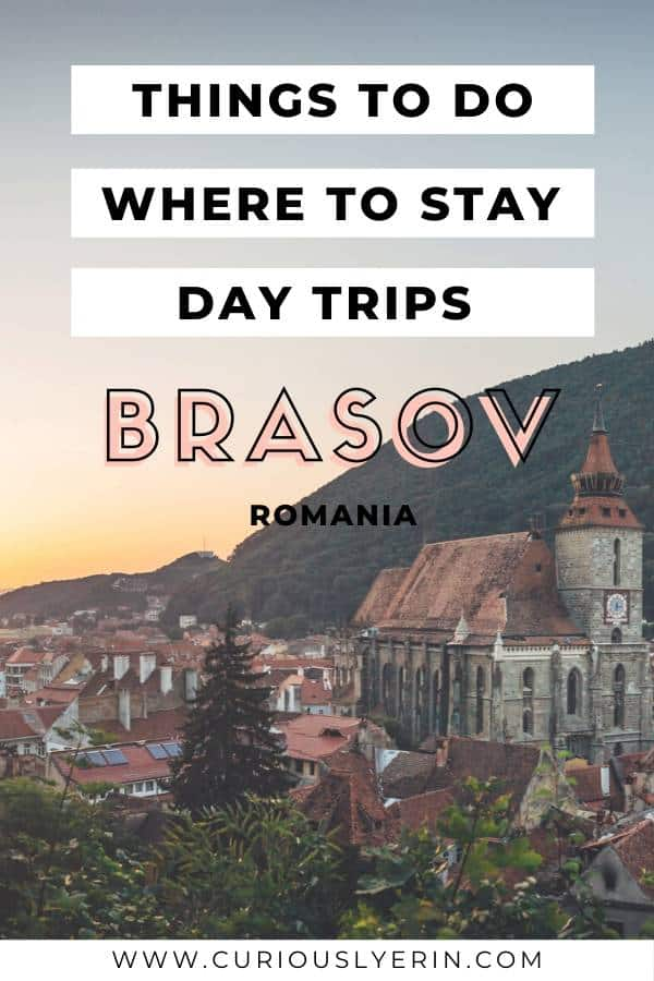 Brasov is a small medieval town in the heart of Romania's Transylvania. This ultimate travel guide will help you plan your trip including things to do, where to stay, how to get there and day trips from Brasov #brasovromania #brasovnight #romaniatravel #easterneurope
