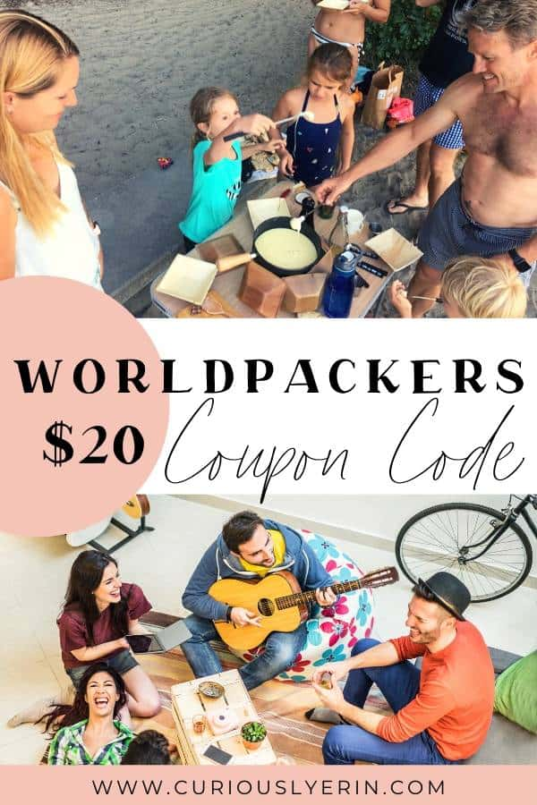 Get a $20 discount on your annual worldpackers membership. This voluntourism site is becomming one of the biggest and best programs for work exchange around the world. Start getting free accommodation and food wherever you travel.. #worldpackerslife #worldpackerstravel #budgettravel #fulltimetraveller Worldpackers Promo Code