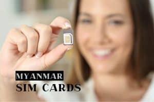 Tips on getting a prepaid Myanmar SIM card