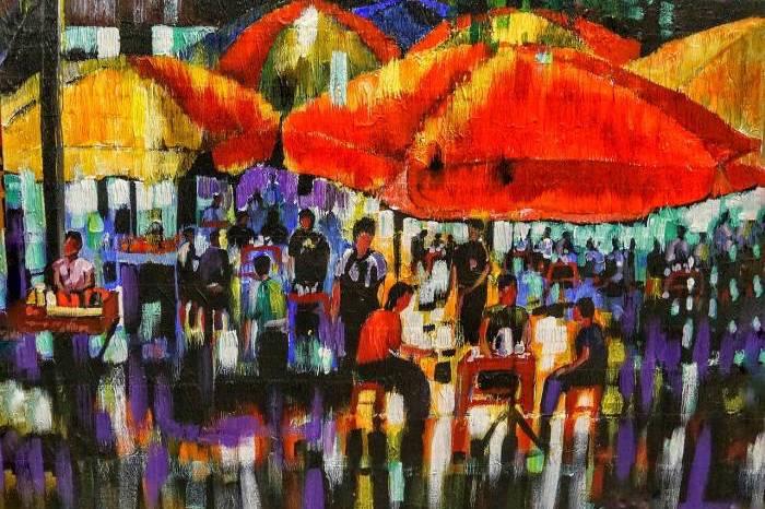Bogyoke Aung San Market, formerly Scott Market artworks