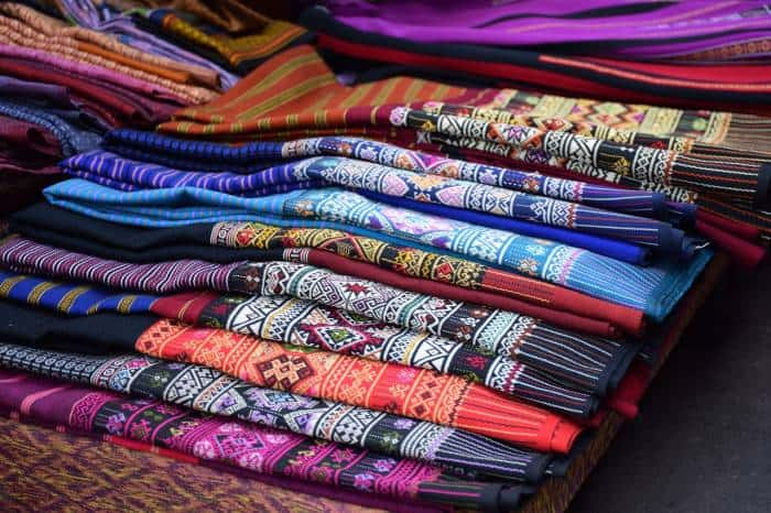 Bogyoke Aung San Market, formerly Scott Market fabrics