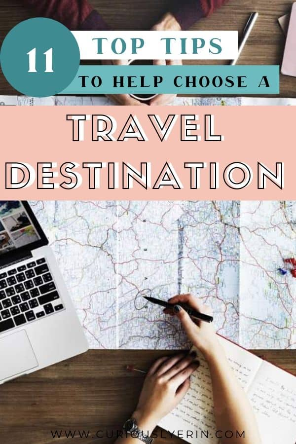 We all want to see as much of the world as possible. Although with so many incredible destinations and bucket list activities, how do you choose a travel destination? This post will help you decide exactly where your next vacation should be and give you ideas and inspiration on where to travel no matter how much time off you have and whatever your budget. #howtochooseyourtarveldestination #traveldestinationideas #travelplanning #travelplanningtips
