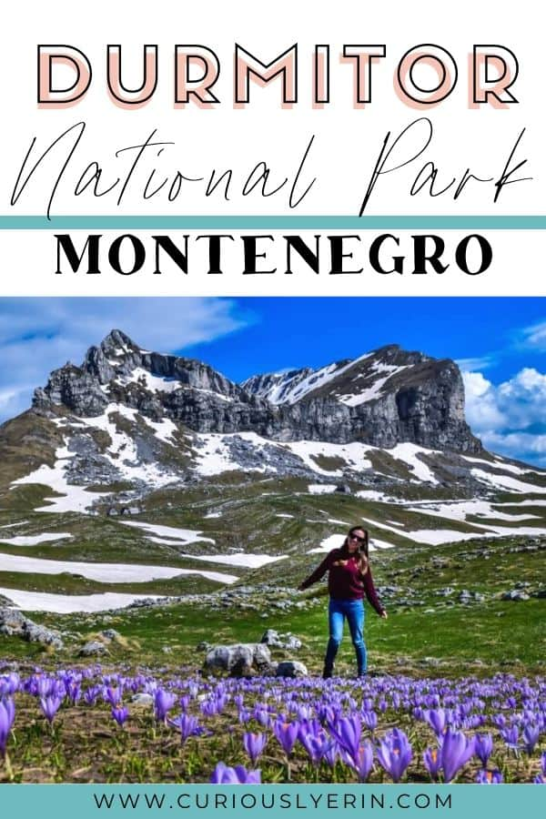 The complete Durmitor National Park Hiking & Travel Guide for your trip to Montenegro. Find out the top things to do including hiking trails, whitewater rafting trips, visiting the Tara Canyon and the best scenic drives. Montenegro is an outdoor lovers dream #visitmontenegro #thingstodoinDurmitor #nationalparks #easterneurope #balkans #topplacesmontenegro