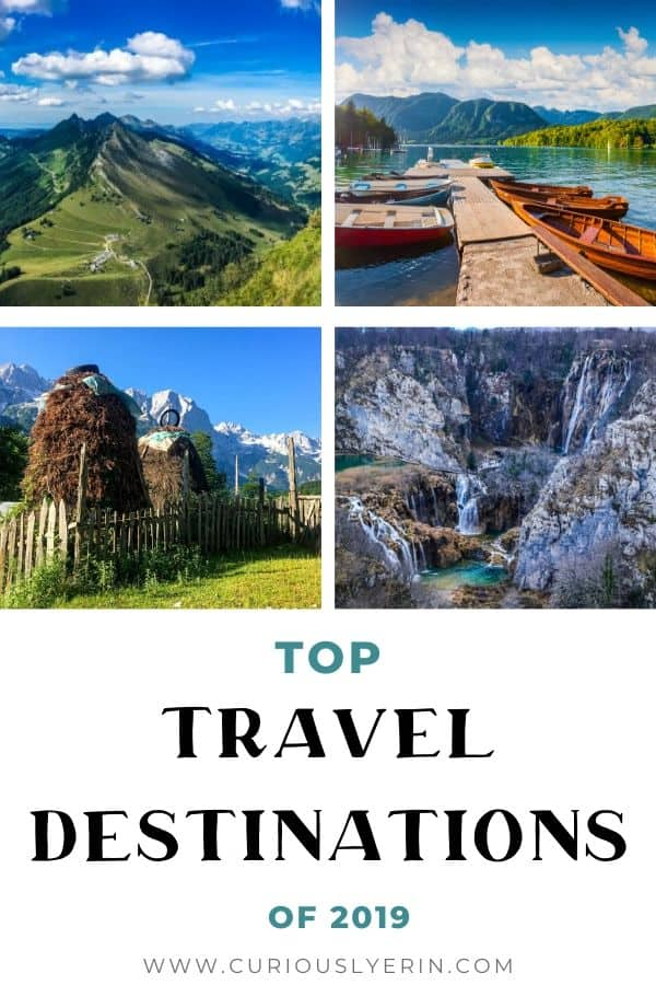 Find out my favourite destinations of 2019. These are the places I visited in the past 12 months that I loved and think you should visit. These are my top places to travel in Europe. Check them out and add them to your bucket list. #topdestinations #favouriteplaces